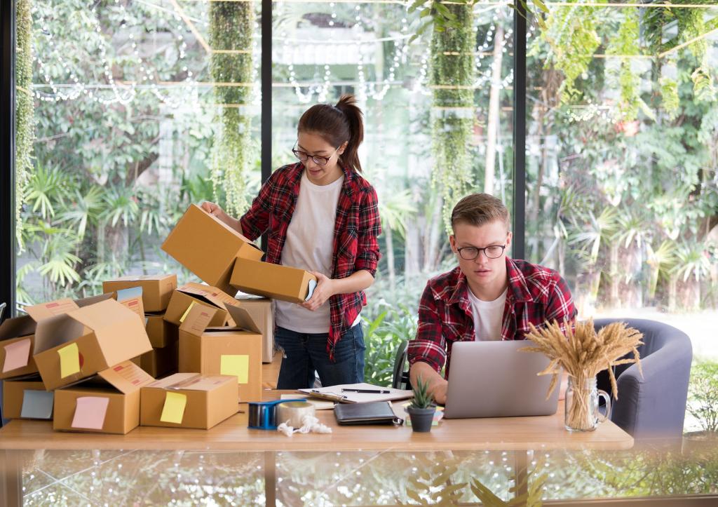 Preferencias de entrega de productos de los compradores en línea
